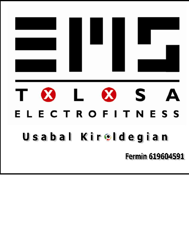 EMS TOLOSA ELECTROFITNESS: SESION GRATUITA DE PROMOCION 2017 para los primeros 20 que reserven su sesión.