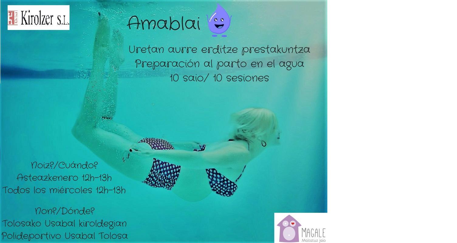 Curso de preparación al parto-Amablai