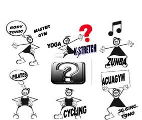 QUE ACTIVIDAD TE CONVIENE MAS: Mira la tabla de objetivos