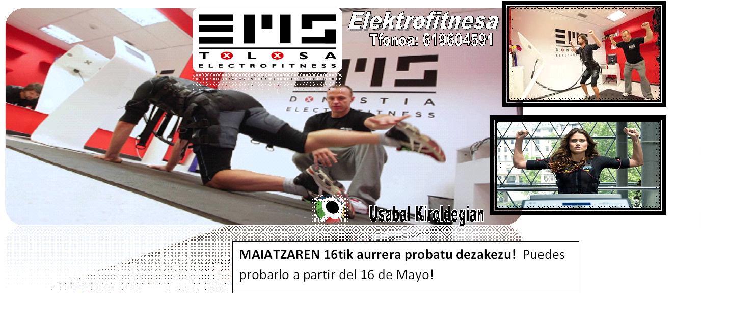 Sesión de prueba gratis - Elektrofitnes