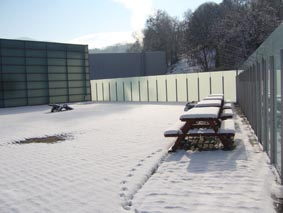 La nieve nos visito a usabal